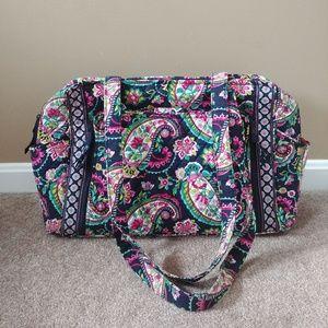 Vera Bradley Petal Paisley Stroll Around Baby Bag